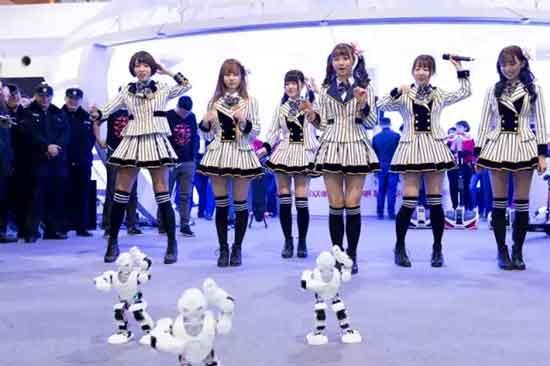 SNH48与机器人