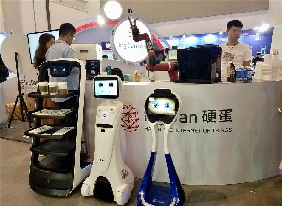 硬蛋出席杭州未来生活节