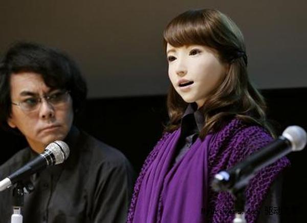 日本又出美女机器人:可自然对话!