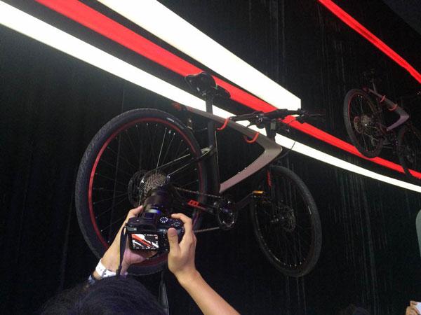 乐视超级自行车?