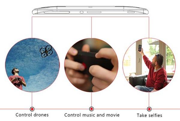flitchio智能手机壳:内置虚拟摇杆