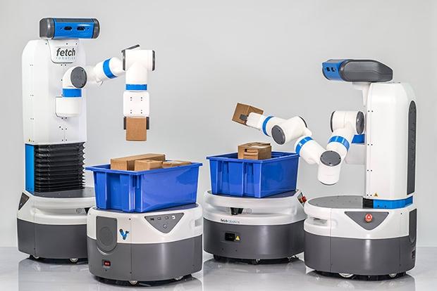 仓库机器人 物流终于开始智能化