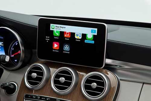 手机的导航声音通过蓝牙和车载音响连接后,导航声音的