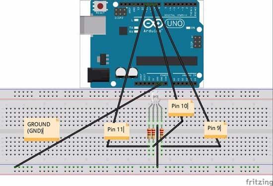 尝试用arduino来控制rgb led灯吧