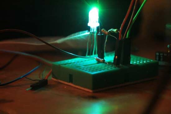 尝试用arduino来控制rgb