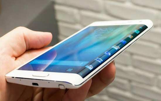 曲面屏幕手机将是下一代高端智能手机