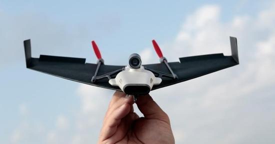 """可以真正飞起来的""""纸飞机"""""""