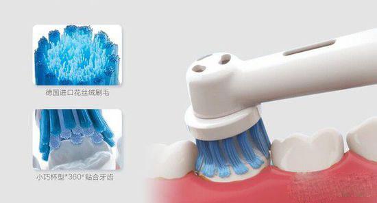旋转式电动牙刷