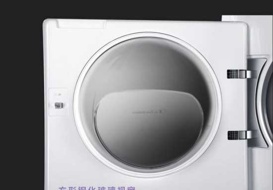卡萨帝全自动复式滚筒洗衣机:大气外表 无噪音