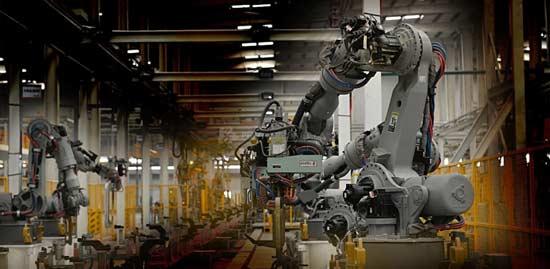 导语:工业机器人是面向工业领域的多关节机械手或多自由度的