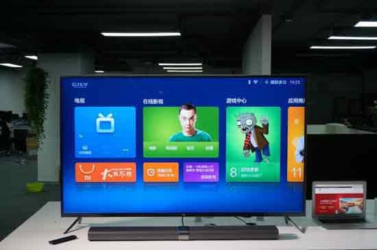 小米智能 电视 集成了 4 家互联网
