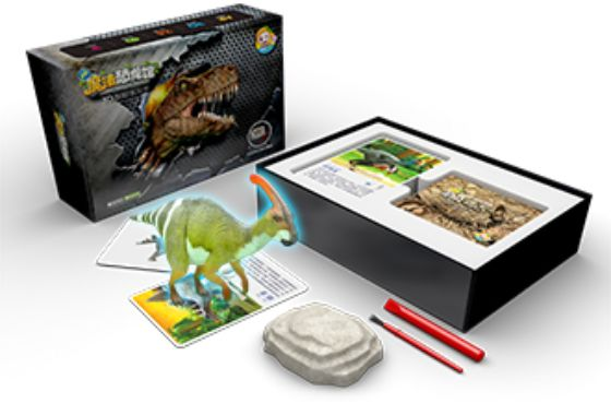 魔法恐龙馆 3D智能学习卡片-硬蛋网