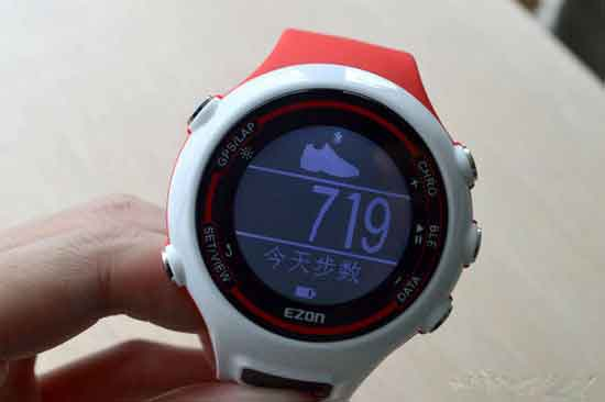 你的户外运动助跑者 宜准e1a12智能心率手表