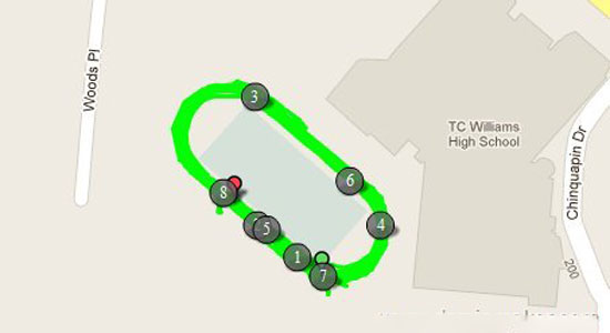 注意:智能手环总是会高估你跑步的距离