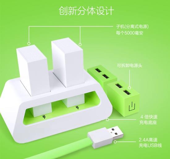 改变移动电源携带方式——atx可分解式移动电源