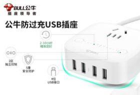 公牛防过充USB插座-硬蛋网