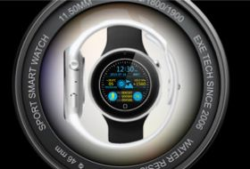 EXE WATCH 智能运动手表-硬蛋网
