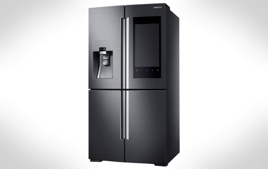 三星推出新款智能冰箱