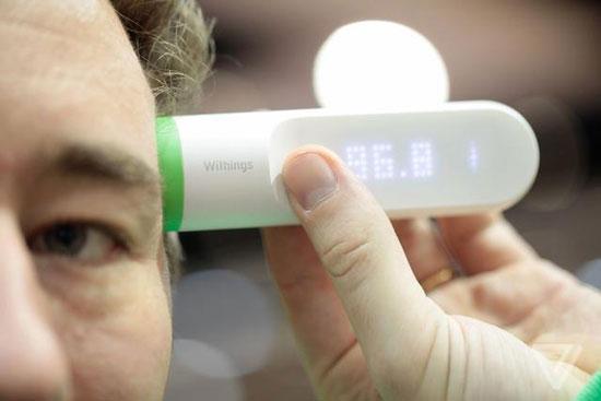 withings推出一款全新的智能温度计 内置16个红外传感器