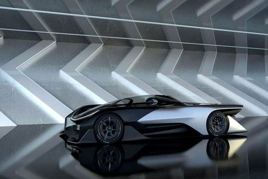 CES上乐视又要做超级汽车 FF ZERO 1概念汽车高清图片
