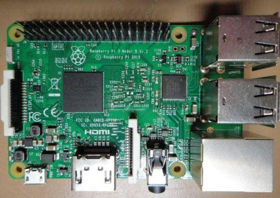 树莓派3现身fcc 支持蓝牙和wifi连接