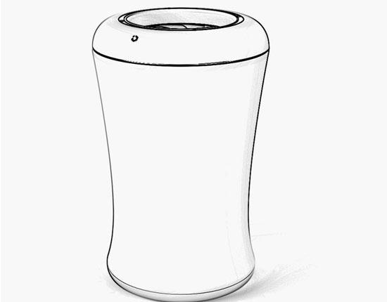 idol爱豆家用型智能垃圾桶