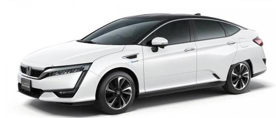 本田氢燃料电池汽车开卖