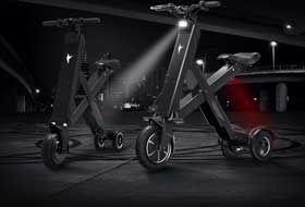 锋鸟X1-CROSS版智能折叠电动车 生活新动力-硬蛋网