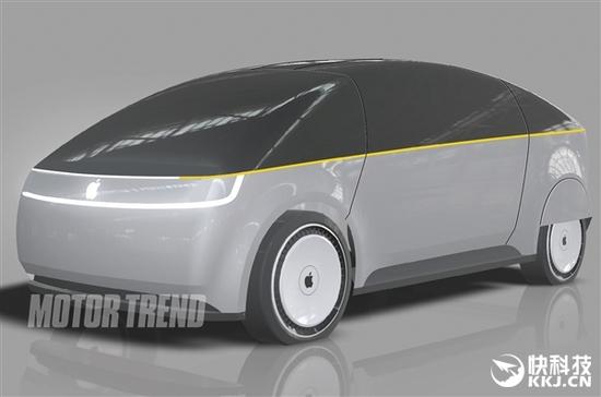 苹果汽车概念图曝光 吸收iphone设计元素