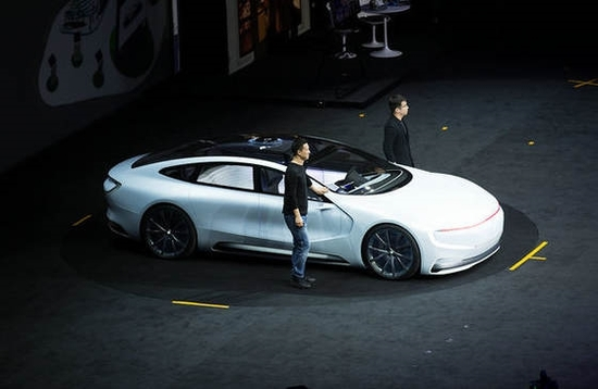 生态 发布会 乐视超级汽车成焦点高清图片