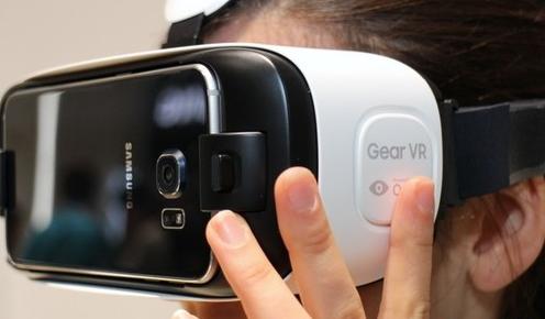 三星打造VR头戴设备