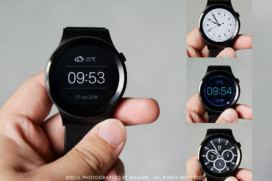 土曼t-ripple智能手表内置多款表盘主题,从简约到运动到商务,应有尽有