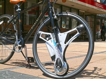 单车变形记,换轮胎变电动车