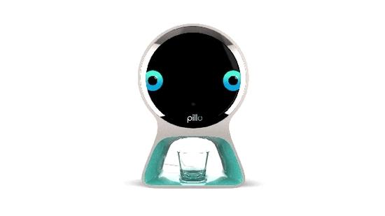近日, 国外初创公司Pillo Health推出了一款名为Pillo的家庭健康机器人。 据了解,这款机器人拥有学习、人脸识别、视频会议及智能健康助理等功能,它还能按时提醒你吃药。 该公司表示,Pillo可以通过识别每位家庭成员的声音,来储存用户的信息,并根据这些信息来为每位用户合理分配药物。 除此之外,Pillo还能与用户进行语音互动,并为用户解答简单的医疗问题,同时还能帮助用户直接与医疗人员视频对话。 此外,用户还能通过配套的App来为Pillo添加药物分配时间,一旦时间到了,Pillo就会自动将药物分