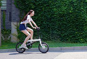 米家骑记电助力折叠自行车-硬蛋网