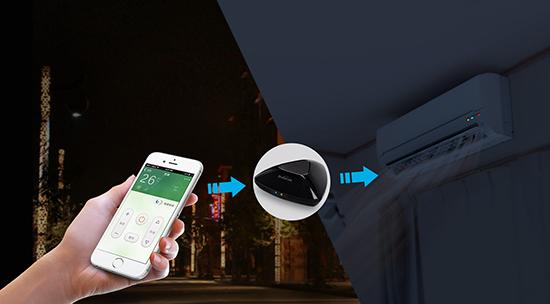 wifi智能遥控器 rm pro,可以手机一键控制家中电器,兼备预约定时,远程